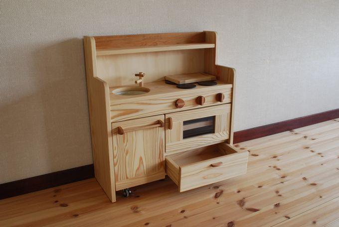キッチン ままごとキッチン : ままごとキッチン | マエダ木工 ...