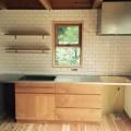アルダー材キッチン